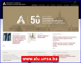 www.alu.unsa.ba