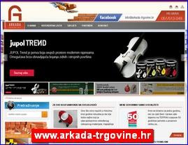 www.arkada-trgovine.hr