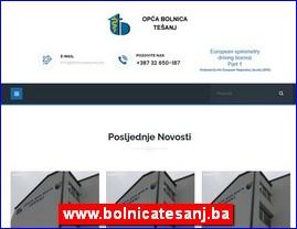 www.bolnicatesanj.ba