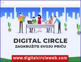 Grafički dizajn, web dizajn, SEO optimizacija, www.digitalcircleweb.com