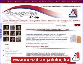 www.domzdravljadoboj.ba
