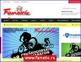 Fanatic Bike - prodaja bicikala, električni bicikli i skuteri, MTB bicikli, dečiji bicikli, gradski bicikli, ženski bicikli, muški bicikli, servis, sportska oprema, fitness oprema, www.fanatic.rs