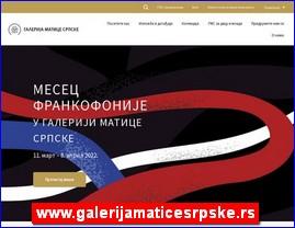 www.galerijamaticesrpske.rs
