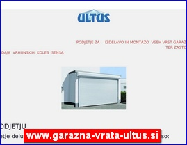 www.garazna-vrata-ultus.si