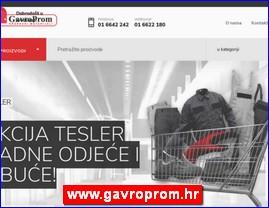 www.gavroprom.hr
