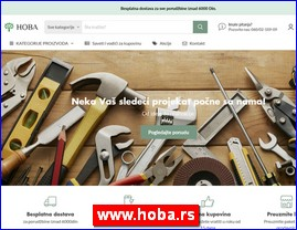 Hoba - boje i lakovi, okov i oprema za nameštaj, rasveta, mašine i alati, građevinska stolarija, drvena dekoracija, podne obloge, zidne obloge, trska bambus ratan, hoba.rs