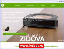 iRobot®, robot usisivači i brisači, Beograd - www.irobot.rs