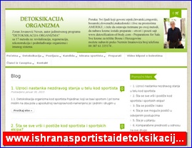 www.ishranasportistaidetoksikacija.com