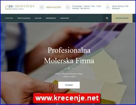 AG-Adaptacija, molerska firma - krečenje, moleraj, molerski radovi, www.krecenje.net