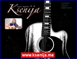 www.ksenija.me