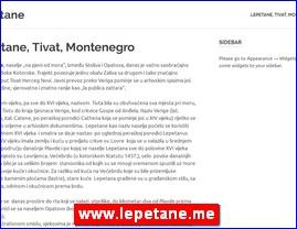 www.lepetane.me
