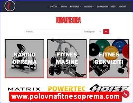 www.polovnafitnesoprema.com