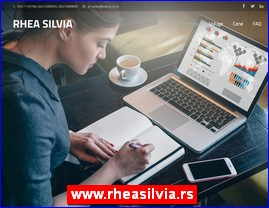 Prevođenje materijala, podučavanje, daktilografija, skeniranje, obrada teksta, organizacija, planiranje, izveštavanje, web sajtovi - www.rheasilvia.rs