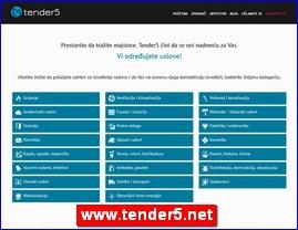 www.tender5.net