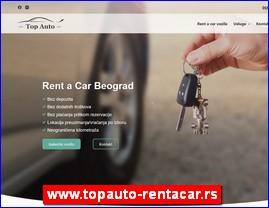 Top Auto, Beograd - Rent a car bez depozita, www.topauto-rentacar.rs