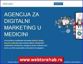 Webtore Hab, digitalna marketinška agencija specijalizovana za promociju medicinskih proizvoda i usluga, www.webtorehab.rs