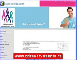 www.zdravstvosenta.rs